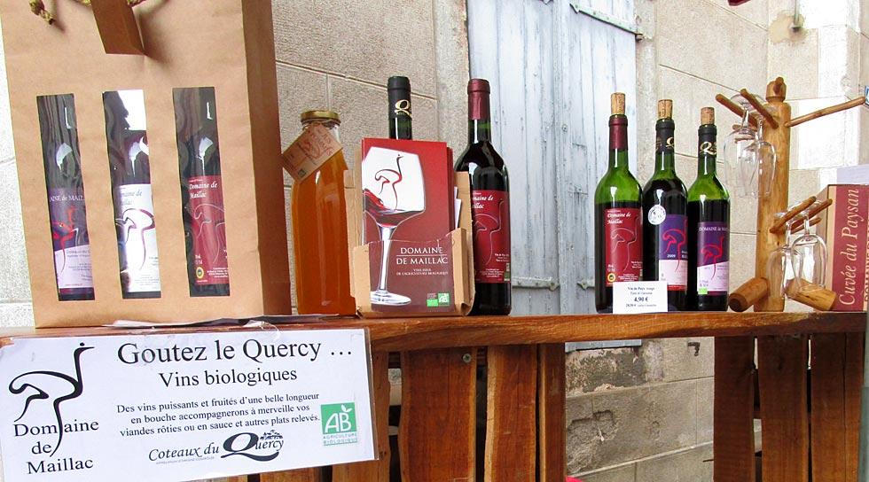 Marché de Montricoux
