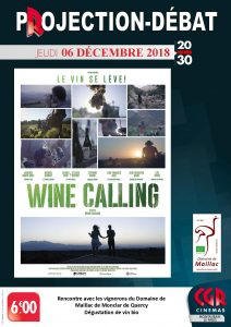 wine calling @ CGR cinema Paris | Montauban | Occitanie | France